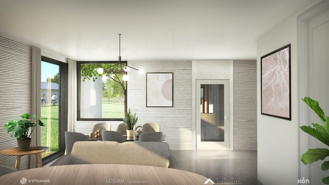 В США началось строительство первых «напечатанных» домов ценой 450000 долларов
