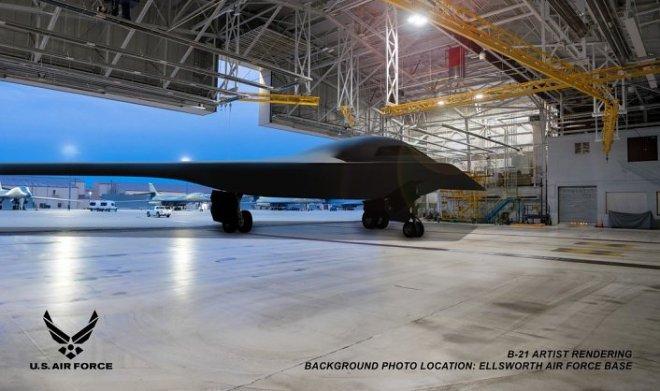 ВВС США опубликовали первые снимки бомбардировщика B-21 Raider за много лет