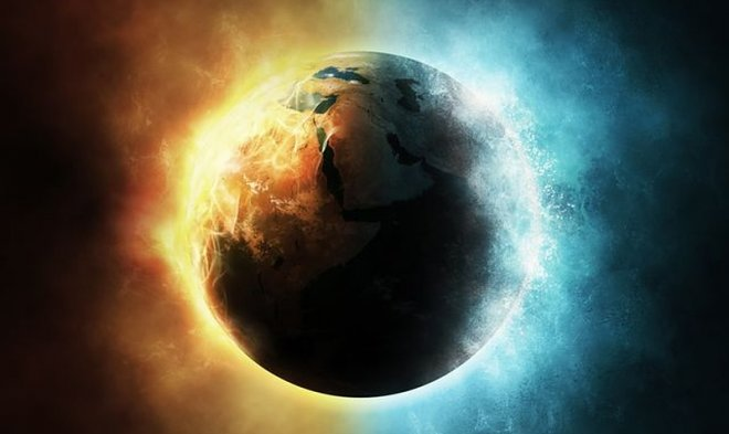 Почему одна половина Земли охлаждается быстрее другой