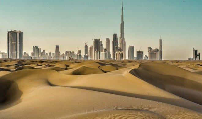 Дрон из ОАЭ будет бить облака электроразрядами для вызова дождя