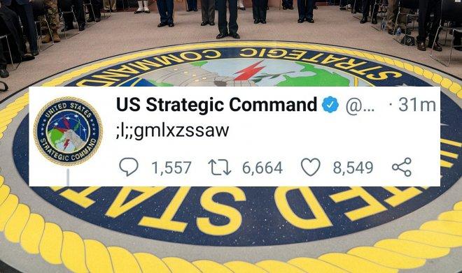Странная запись в Твиттере Стратегического командования США устроила немалый переполох