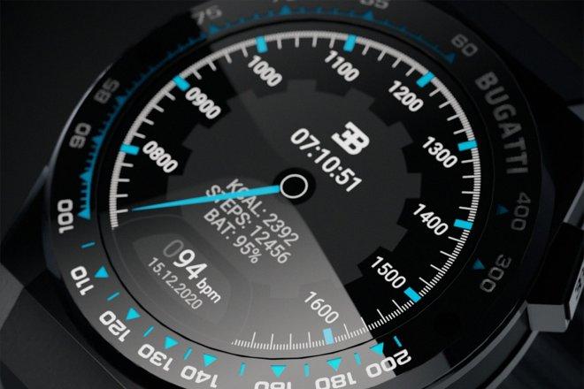 Часы Bugatti