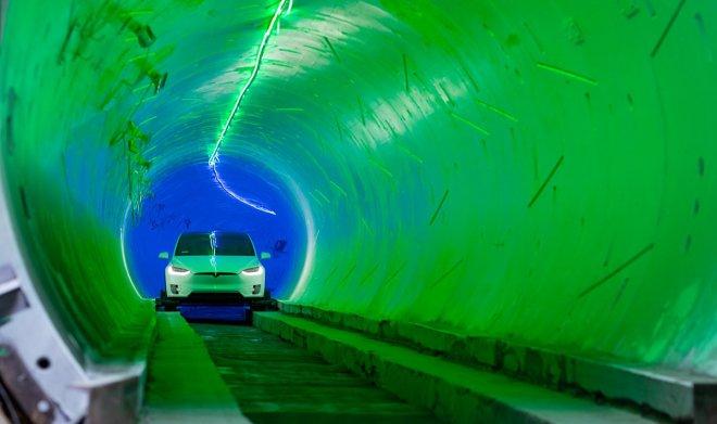 Тоннель под Лас-Вегасом